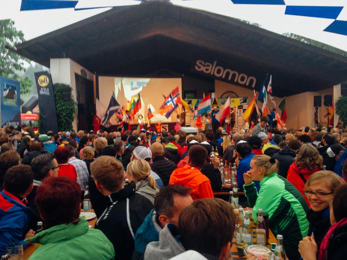 Läufer aus 50 Nationen waren am Start, darunter Neuseeland und Guatemala.